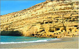 Matala: The Hippies' caves