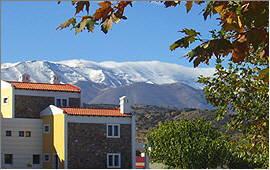 Anogia: Hotel Delina and Ida mountains