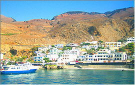 Sfakia: Port of Hora Sfakion