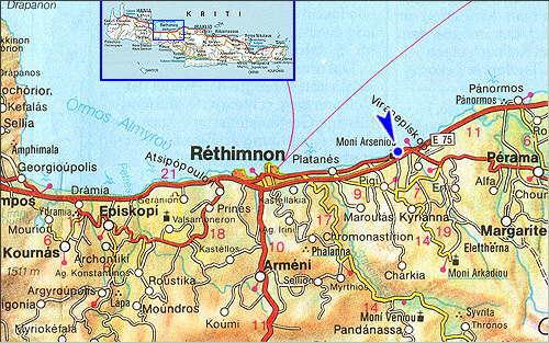 Pighianos Campos: Site Map